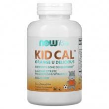 Витамины NOW Kid-Calchewable Calcium 100 loz
